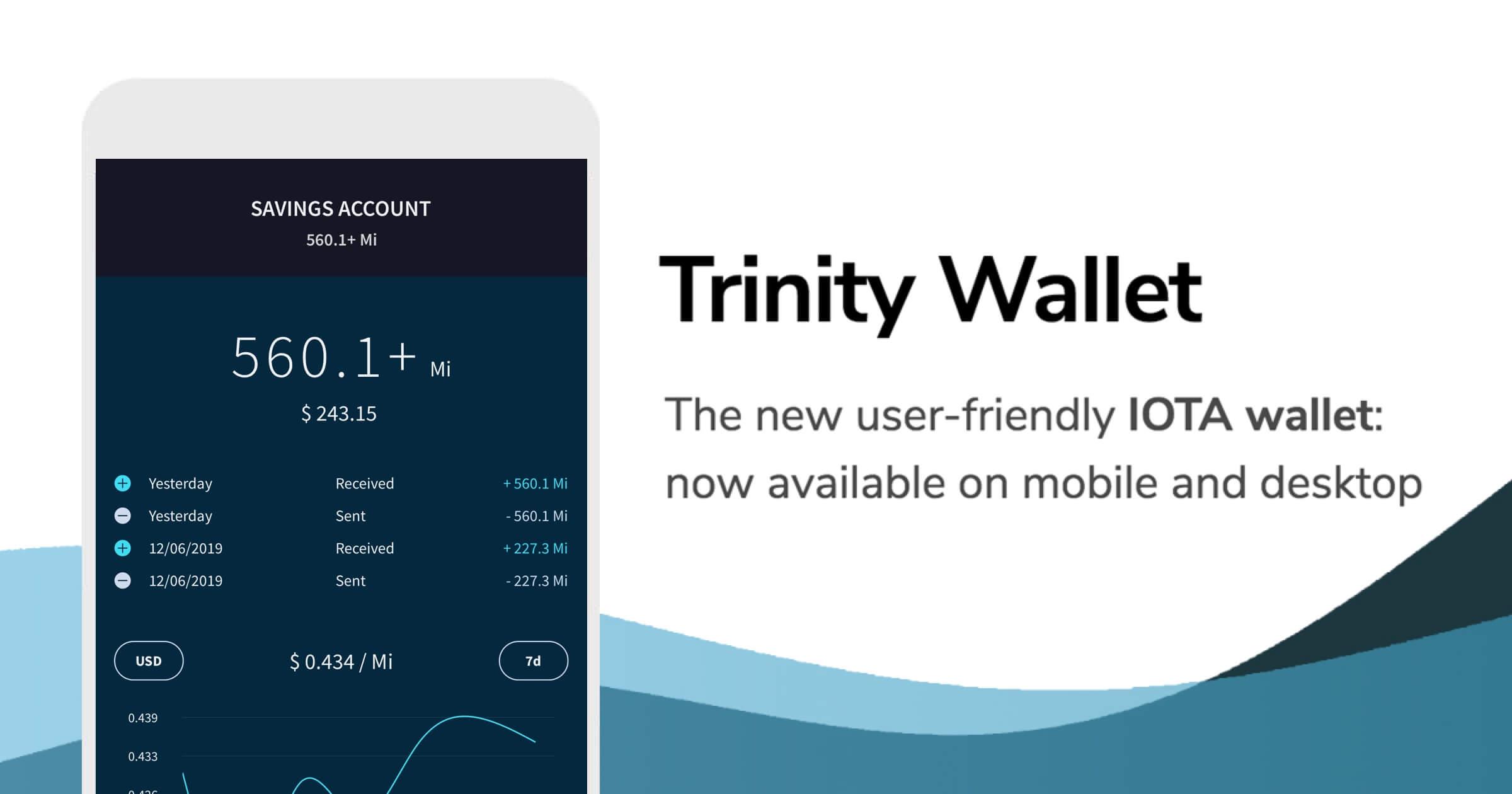 Trinity Wallet - IOTA